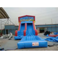 China Durable Inflatable Slip N Slide With Jump Blow Up Playhouse CE / EN14960 Certificate wholesale