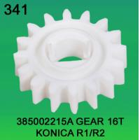 China 385002215A / 3850 02215A GEAR TEETH-16 FOR KONICA R1,R2 minilab wholesale