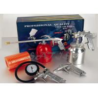 Quality Suction Feed High Pressure Spray Gun Kits , air tools kit for auto painting for sale