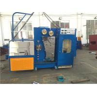 China 15KW High Speed Wire Drawing Machine , Copper Wire Making Machine With Annealer wholesale