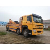 China Duty Heavy Towing Truck Road Recovery Strong Practicability Euro 3 Standard on sale
