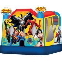 China Inflatable Bouncer combo / Bouncer and slide combo / inflatable hero combo wholesale