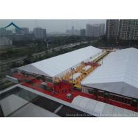 China Conditioned  Exhibition Tents With PVC Fabric For Outdoor Commercial Trade Show Event wholesale