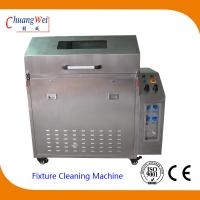 China Wave Solder smt cleaning equipment , pallet washer machines with 3 Levels Filter System wholesale