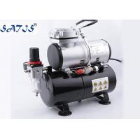 China 3.0l Air Tank 1/6hp Power Mini Air Compressor For Airbrush Painting Decoration wholesale