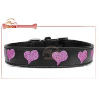 China  Custom Embroidered Leather DIY Dog Collar  for sale