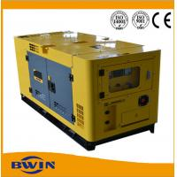 China Silent Diesel backup power generator with FAW Xichai Engine , 30kw diesel generator wholesale