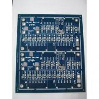 China Lead free HASL Blue Double sided PCB circuit boards 2.0MM Thickness , 2 oz ( 70 um ) wholesale
