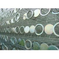 China Any Type Industry Dust Collector Bag Filter Cage with Zinc Galvanized Treatment wholesale