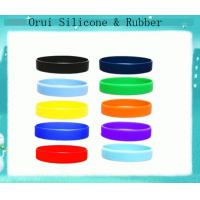 China Customized silicon rubber wristbands & bracelet made in China wholesale