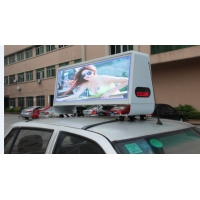 Quality P4mm Taxi Roof LED Display for sale