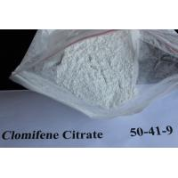 China Clomid / Clomifene Citrate Legal Anti Estrogen Steroids Powder CAS 50-41-9 No Side Effects wholesale