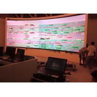 Meeting Room 4mm color Curved LED Screens with High Refresh Rate
