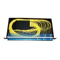 Quality Rack Mount Fiber Optic PLC Splitter 19 Standard With SC Adapter , 2x32 Type for sale
