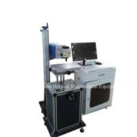 China Wood Leather Non-metal Materials Co2 RF Laser Marking Machine wholesale