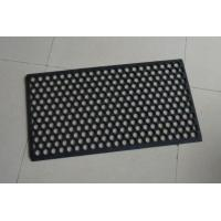 Buy cheap Customised Door Mat With Holes, Waterproof Rubber All Weather Floor Mats from wholesalers