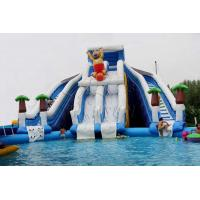 China Boonie Bear Commercial Inflatable Water Park , Blow Up Water Playground on sale