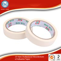 China Self Adhesive Colored Masking Tape White Long Lasting For Sealing wholesale