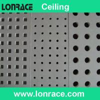 China perforated gypsum ceiling tile on sale
