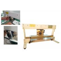China Manual Circular Linear Blade Pcb Depanel Machine With Round Knife wholesale
