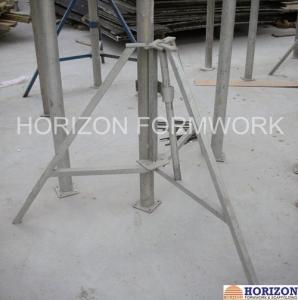China Slab Concrete Forming Adjustable Construction Props , Flexible Foldable Shoring Prop wholesale