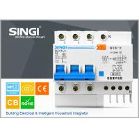China DZ47LE-63 6amp Residual current circuit breaker with overcurrent protection wholesale