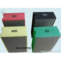 China Diamond Hand Polishing Pads (Diamond Grits# 60 ~ 7000) wholesale