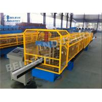 China 10 - 15 M/Min Gutter Roll Forming Machine K Style O Gee Profile Producing Use wholesale