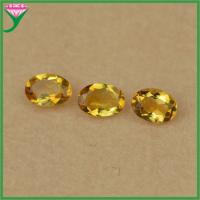 factory wholesale natural citrine 5 7mm oval diamond cut yellow topaz stone price of item 104016483. Black Bedroom Furniture Sets. Home Design Ideas