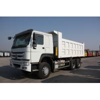 Multi Color Optional 30 Ton Tri Axle Dump Truck For Mining Model ZZ3257N3847A/N0WA
