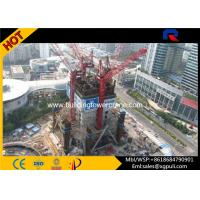 China Mini Hammer Head Tower Crane Climbing Height 65M For Inside Building wholesale