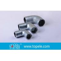 25mm BS4568 Conduit Fittings Malleable Iron Solid Elbow 90 Degree Pipe Bent for sale