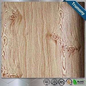 China Decoration Wood Grain Aluminum Composite Panel Thickness 3mm ~ 6mm Paint Coat Surface wholesale