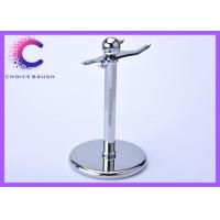Quality Safety Shaving Brush And Razor Stand , Zinc alloy stainless steel men shaving kit for sale