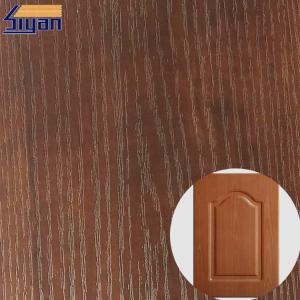 China PVC Furniture Film Texture Decorative PVC Wood Grain Film For Membrane Pressing wholesale