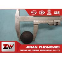 China Professional Dia20-40mm Hot Rolling Steel Balls Good wear resistance wholesale