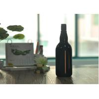 China Blown Cutting Glass Wine Bottles 1 Liter Glass Liquor Bottles Customized wholesale