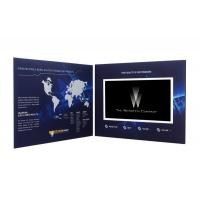 "China 5""TFT screen video mailer , video brochure card with Rechargeable Battery wholesale"