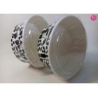 Buy cheap Custom Food Grade 44oz / 34oz / 38oz Paper Salad Bowls With Glossy Finished from wholesalers