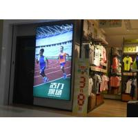 China Wall Display Sign Fabric LED Light Box Single Side Custom Sizes For Large Format wholesale