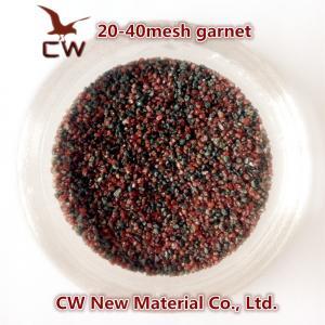 China Garnet sand blasting abrasives 20/40 30/60 wholesale