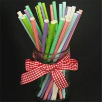 China Beautiful Decorative Paper Straws Drinking Straws Fit Family Gatherings wholesale