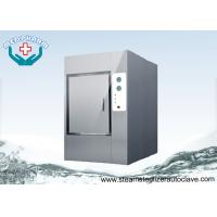 China Motorized Hinge Door Autoclave Steam Sterilizer With Silicone Gasket on sale