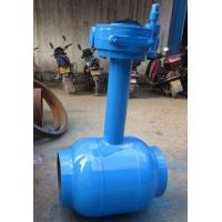 China Underground Water / Oil 1200mm Welding Connect Ball Valve DN15 ~ DN1400 wholesale