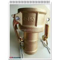 China Forged brass camlock quick coupling coupler C wholesale