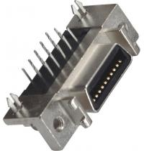 China 20P Computer Pin Connectors 1.27mm Cen Type Female DIP Zinc Alloy Transverse Harpoon wholesale