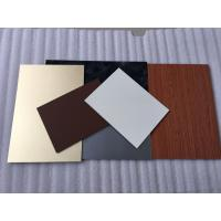 China Green PVDF Aluminum Composite Panel Sound Insulation With Weather Resistance wholesale
