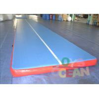 Quality Inflatable Durable Yoga Tumbling Mats / Gymnastics Air Track For Gym Practice for sale