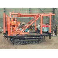 Buy cheap High Efficiency Water Well Drill Rig 100 M Depth For Well Trailer Type from wholesalers