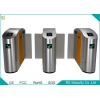 China Half Height IR Sensor Automatic Turnstile Bi direction Sliding Gate wholesale